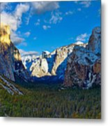 Tunnel View Metal Print by Mark Whitt