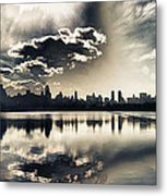 Turbulent Afternoon Metal Print by Nishanth Gopinathan