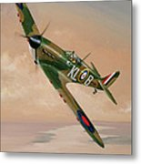 Turning For Home Metal Print by Richard Wheatland