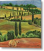 Tuscan Dream 1 Metal Print by Debbie DeWitt