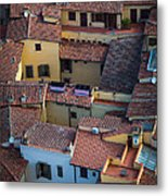 Tuscan Rooftops Metal Print by Inge Johnsson