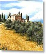 Tuscan Sentinels Metal Print by Michael Swanson
