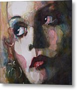 Twiggy Where Do You Go My Lovely Metal Print by Paul Lovering