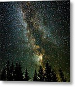 Twinkle Twinkle A Million Stars D1951 Metal Print by Wes and Dotty Weber