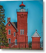 Two Harbors Lighthouse Metal Print by Paul Freidlund