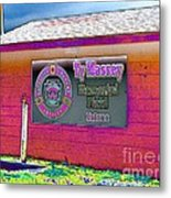 Ty Massey Memorial Colona Il Metal Print by Margaret Newcomb