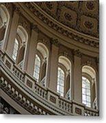 U S Capitol Dome Metal Print by Steve Gadomski