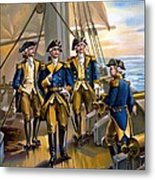U S Navy Commander In Chief Of The Fleet Metal Print by The Werner Company