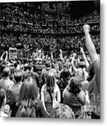 U2-crowd-gp13 Metal Print by Timothy Bischoff