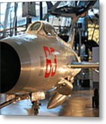 Udvar-hazy Center - Smithsonian National Air And Space Museum Annex - 121234 Metal Print by DC Photographer