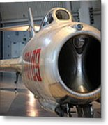 Udvar-hazy Center - Smithsonian National Air And Space Museum Annex - 121243 Metal Print by DC Photographer