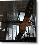 Udvar-hazy Center - Smithsonian National Air And Space Museum Annex - 121248 Metal Print by DC Photographer