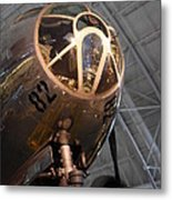 Udvar-hazy Center - Smithsonian National Air And Space Museum Annex - 121288 Metal Print by DC Photographer