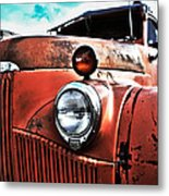 Uncle Mater Metal Print by Justin  Curry