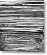 Under The Footbridge Metal Print by Christi Kraft