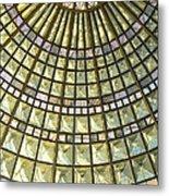 Union Station Skylight Metal Print by Karyn Robinson