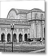 Union Station Washington Dc Metal Print by Olivier Le Queinec