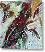 Universe- Abstract Art Metal Print by Ismeta Gruenwald