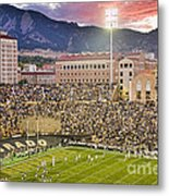University Of Colorado Boulder Go Buffs Metal Print by James BO  Insogna