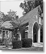 University Of Notre Dame Knights Of Columbus Council Hall Metal Print by University Icons