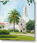 University Of San Diego Metal Print by Mary Helmreich