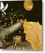 Unlock Thy Inner Self Metal Print by Kristie  Bonnewell