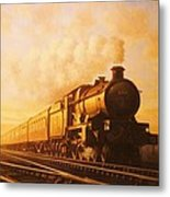 Up Express To Paddington Metal Print by Mike  Jeffries
