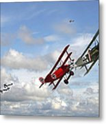 Up Sun Metal Print by Pat Speirs