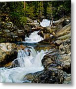 Up The Creek Metal Print by Bill Gallagher