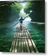 Up The River Metal Print by Arshaad Norwood