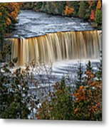 Upper Tahquamenon Falls  Metal Print by Todd Bielby