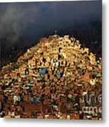 Urban Cross 2 Metal Print by James Brunker
