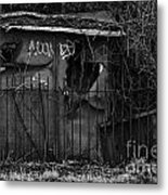 Urban Decay Metal Print by Eden Breitz