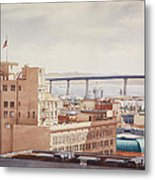 Us Grant Hotel In San Diego Metal Print by Mary Helmreich