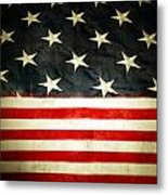 Usa Stars And Stripes Metal Print by Les Cunliffe