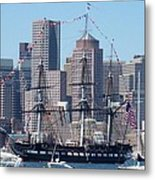 Uss Constitution Metal Print by Catherine Gagne