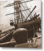Uss Constitution Metal Print by Catherine Reusch  Daley