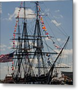 Uss Constitution Metal Print by Mike Ste Marie
