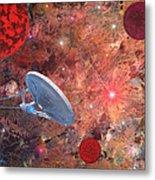U.s.s Enterprise -orion  Metal Print by Michael Rucker