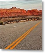 Utah Highway Metal Print by Benjamin Yeager