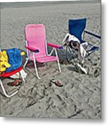 Vacation Time Metal Print by Valerie Garner