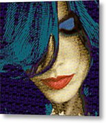 Vain 2 Metal Print by Tony Rubino
