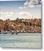 Port Of Valleta Metal Print by Maria Coulson