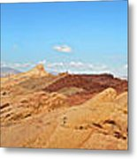 Valley Of Fire Pano Metal Print by Jane Rix