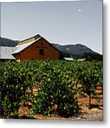 Valley Of The Moon Sonoma California 5d24485 V2 Metal Print by Wingsdomain Art and Photography
