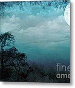 Valley Under Moonlight Metal Print by Bedros Awak