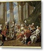 Van Loo, Louis Michel 1707-1771. Philip Metal Print by Everett