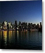 Vancouver Skyline Metal Print by Will Borden