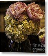 Vase Of Flowers Metal Print by Madeline Ellis