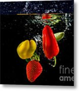 Vegetable Soup For The Soul Metal Print by Rene Triay Photography